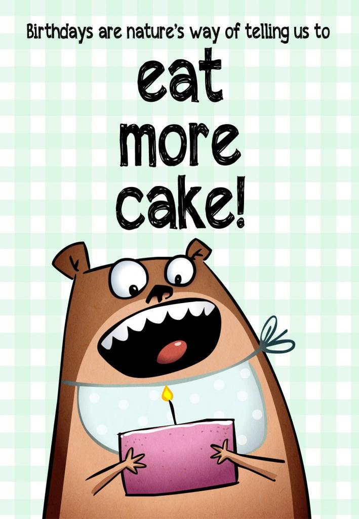 Pinkate Teske On Cards | Free Printable Birthday Cards, Funny | Free Printable Humorous Birthday Cards