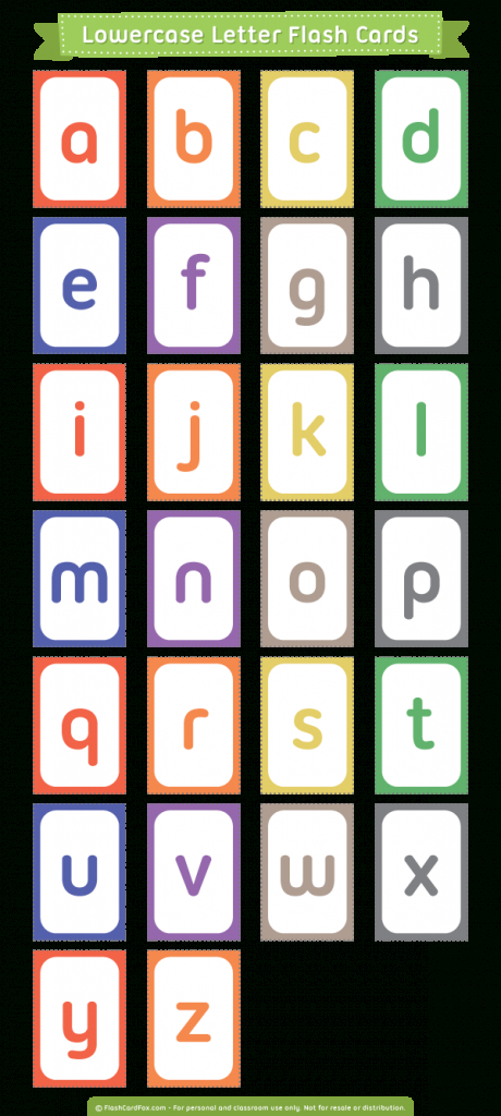 Pinmuse Printables On Flash Cards At Flashcardfox | Letter | Upper And Lowercase Letters Printable Flash Cards