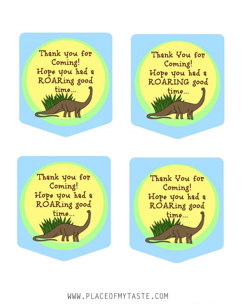 Pinpam Nordvall On Birthday Party - Dinosaurs | Pinterest | Dinosaur Thank You Cards Printable