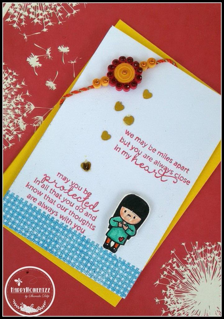 Pinshikha Chamaria On Rakhi Cards | Rakhi Cards, Handmade Rakhi | Free Online Printable Rakhi Cards