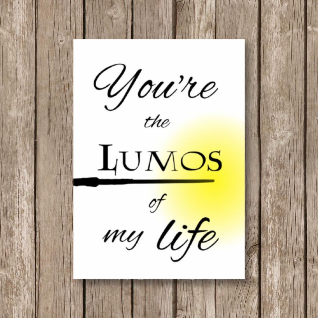 Pinstephanie Drennan On Valentine Be Mine   Harry Potter   Harry Potter Birthday Card Printable