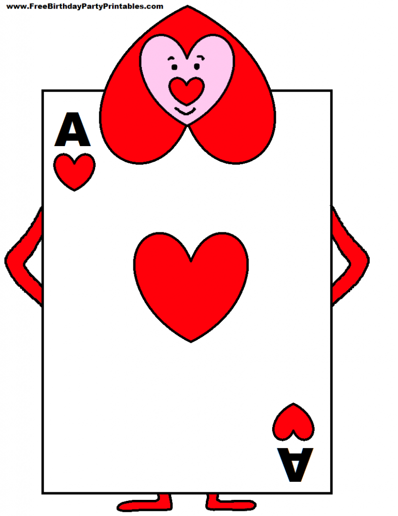 Playing Card Soldiers From Alice In Wonderland - Yahoo Image Search   Alice In Wonderland Printable Playing Cards