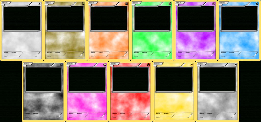 Pokemon Blank Card Templates - Basiclevelinfinitum On Deviantart   Blank Pokemon Card Printable