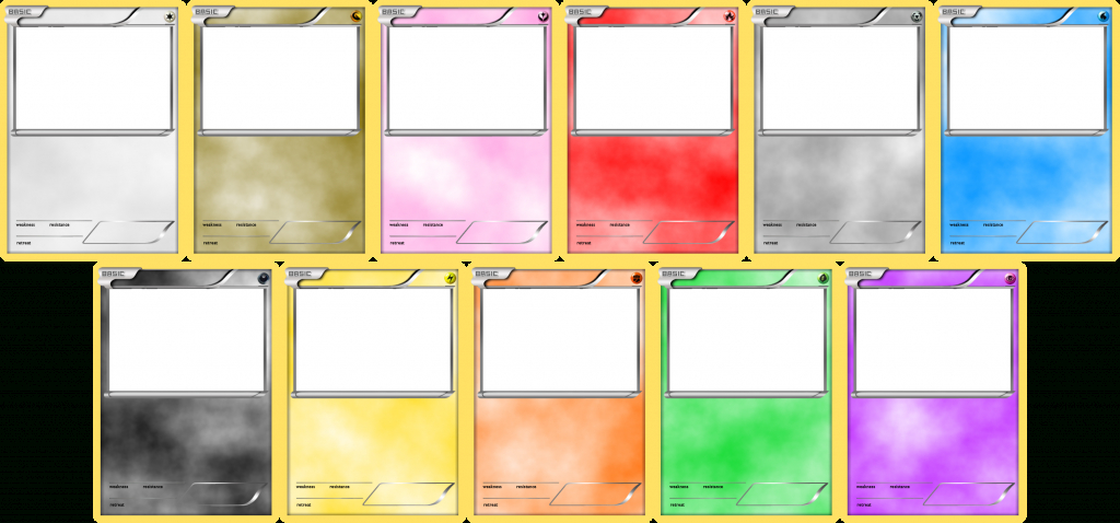 Pokemon Blank Card Templateslevelinfinitum.deviantart On   Blank Pokemon Card Printable