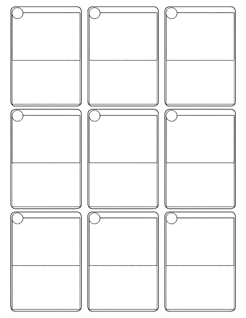 Pokemon Cards Template   Blank Pokemon Card Printable