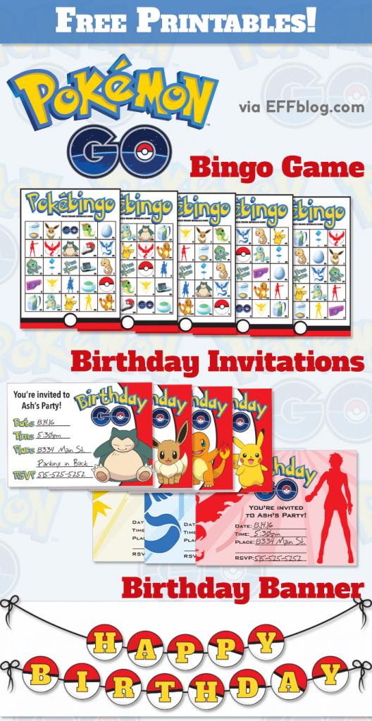 Pokémon Gopocalypse { A.k.a. A Slew Of Free Printables! } | Pokemon Bingo Cards Printable