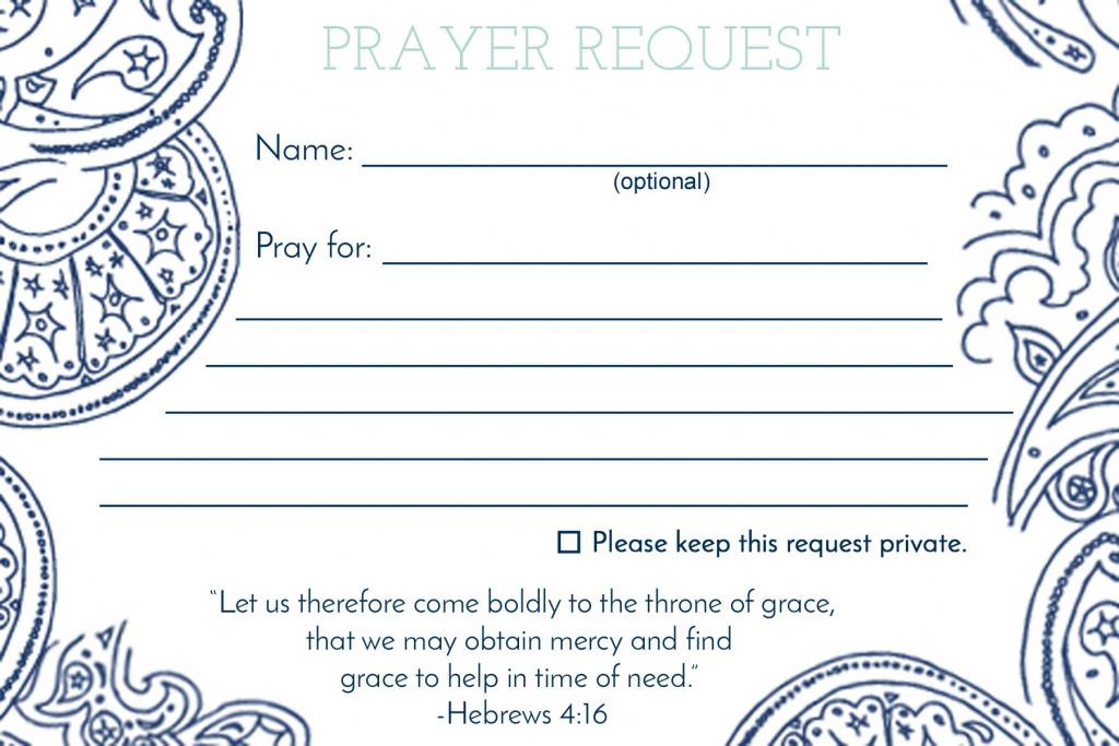 Prayer Request Card …   Mops   Praye…   Printable Prayer Request Cards