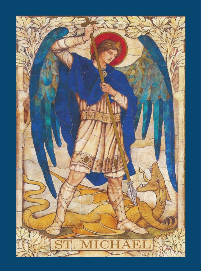 Prayer To St. Michael The Archangel For The Conversion Of   St Michael Prayer Card Printable