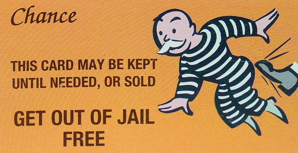 President And Congress Give Financial Fraudsters A Get-Out-Of Jail | Get Out Of Jail Free Card Printable
