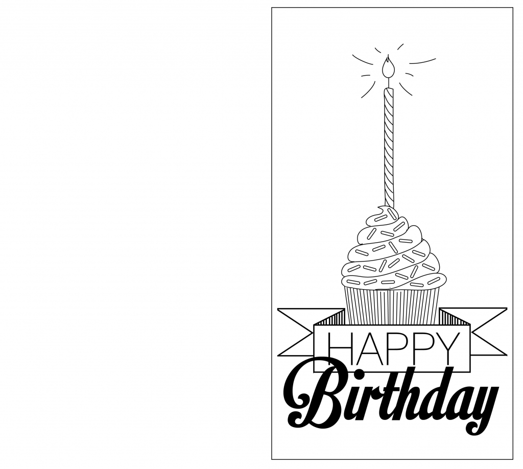 Print Out Black And White Birthday Cards | Projects To Try | Black And White Birthday Cards Printable