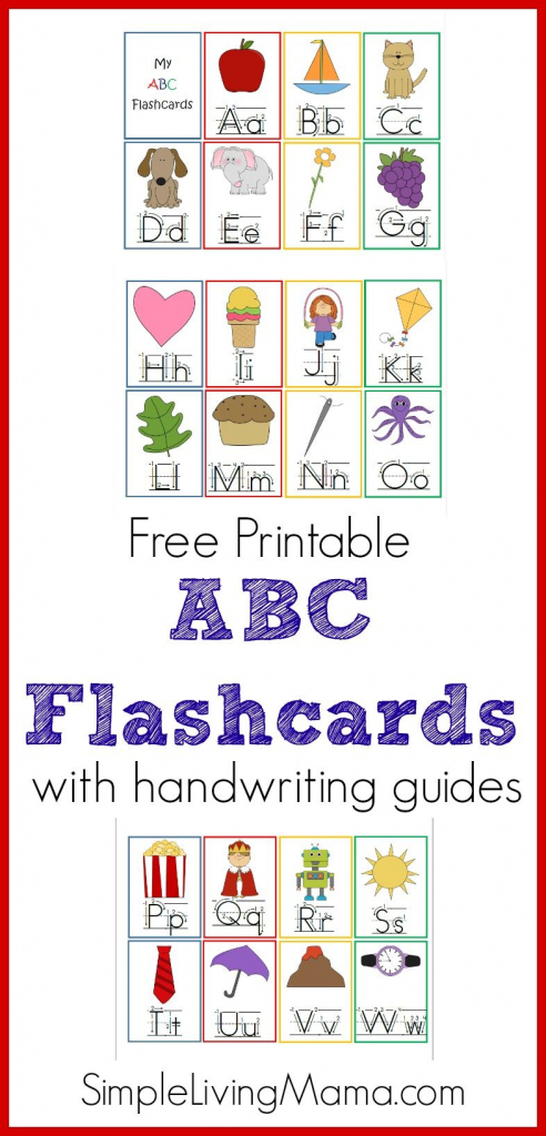 Printable Abc Flashcards For Preschoolers | The Group Board On | Printable Abc Flash Cards Preschoolers