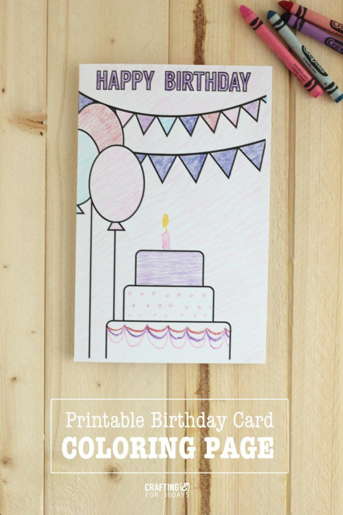 Printable Birthday Coloring Pages | Printables | Birthday Coloring | Free Printable Funny Birthday Cards For Dad