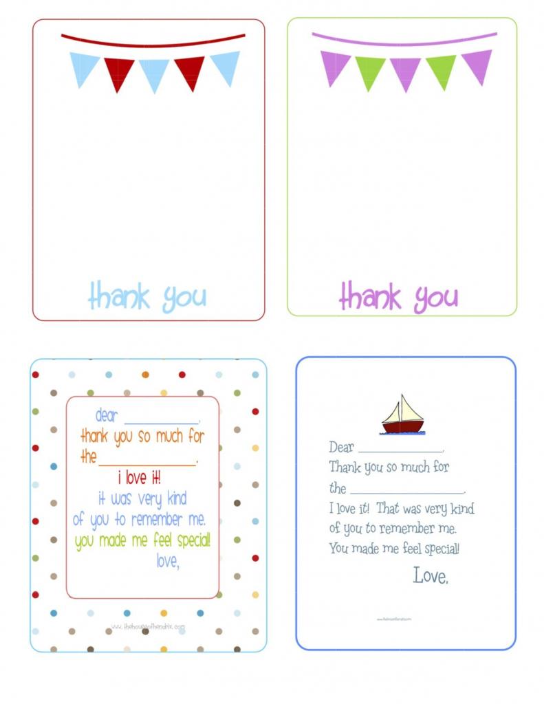 Printable Birthday Thank You Cards -   Printables & Fonts   Free Printable Thank You Cards For Soldiers