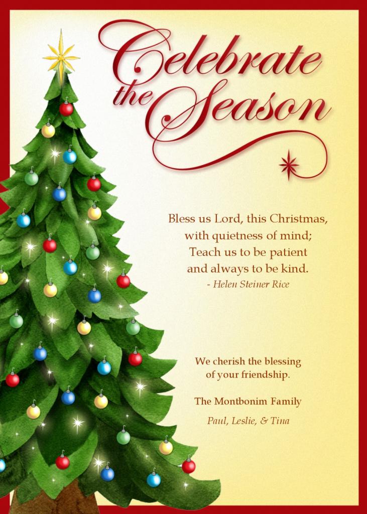 Printable Christian Christmas Cards – Happy Holidays! | Printable Christian Christmas Cards