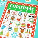 Printable Christmas Bingo Game – Happiness Is Homemade | Printable Christmas Bingo Cards