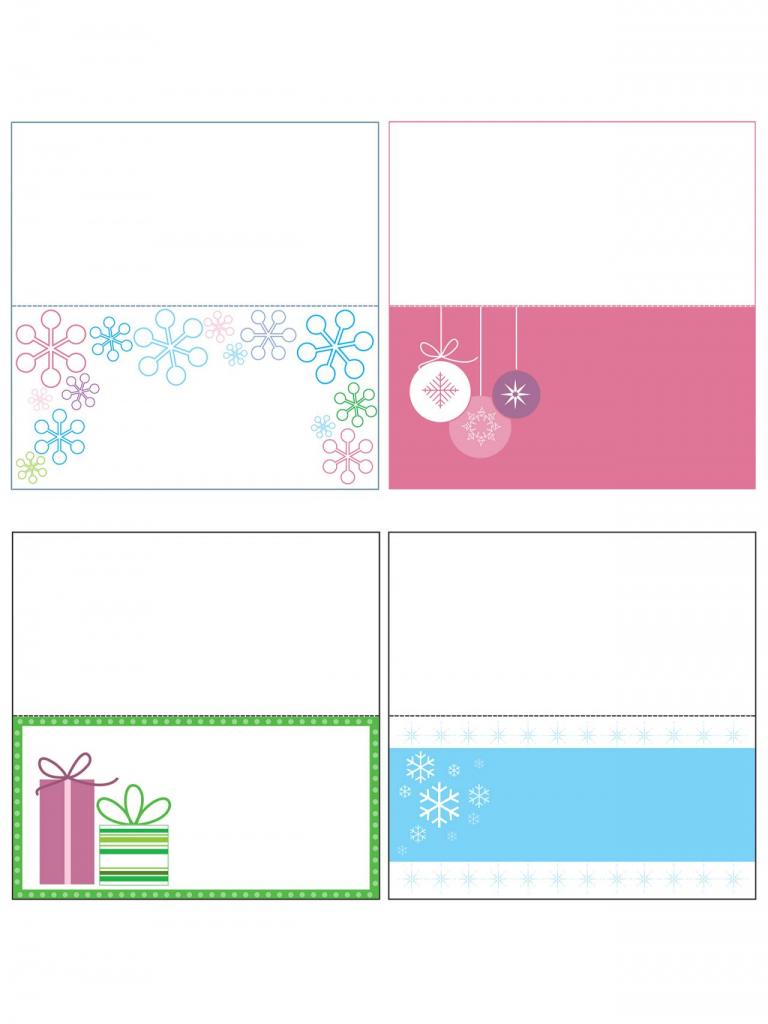 Printable Christmas Tags Template – Fun For Christmas & Halloween   Gift Card Box Template Printable