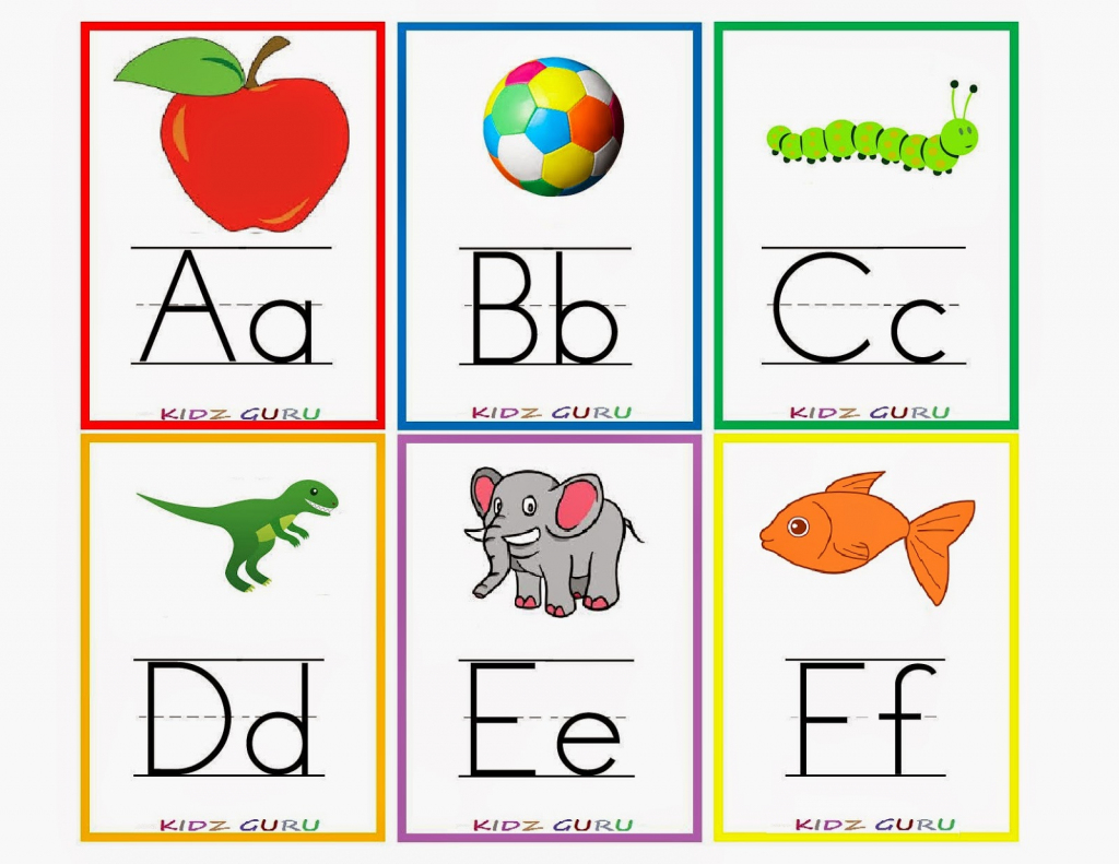 Printable Color Flash Cards - Mauracapps | Printable Picture Cards For Kindergarten