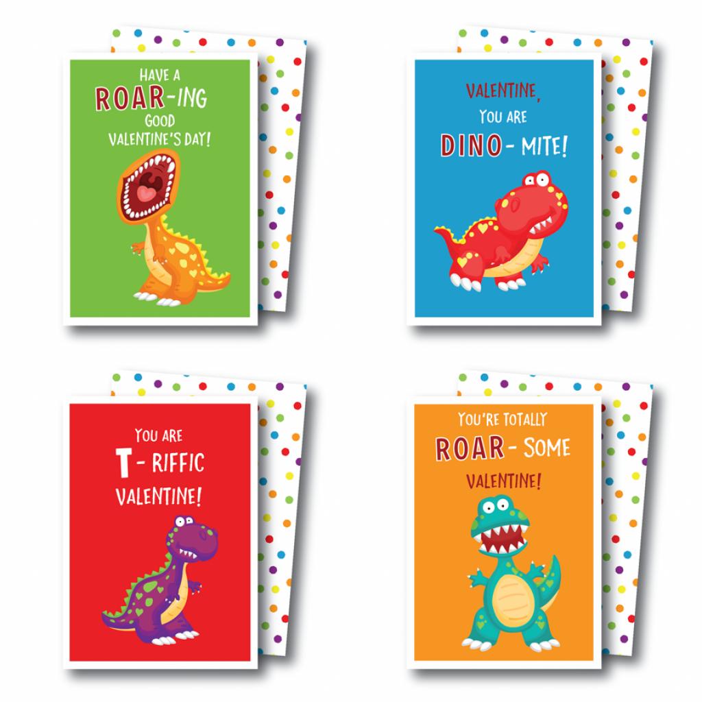Printable Dinosaur Valentines Cards | Kateogroup | Printable Dinosaur Valentine Cards