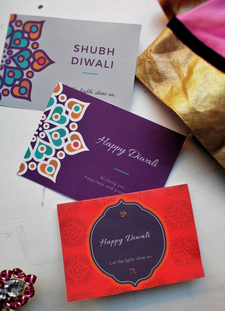 Printable Diwali 2015 Greeting Cards For Friends And Family | Printable Diwali Greeting Cards