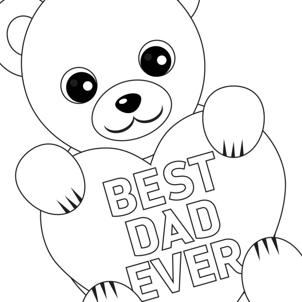 Printable Fathers Day Cards To Color - Printable Cards | Printable Fathers Day Cards To Color