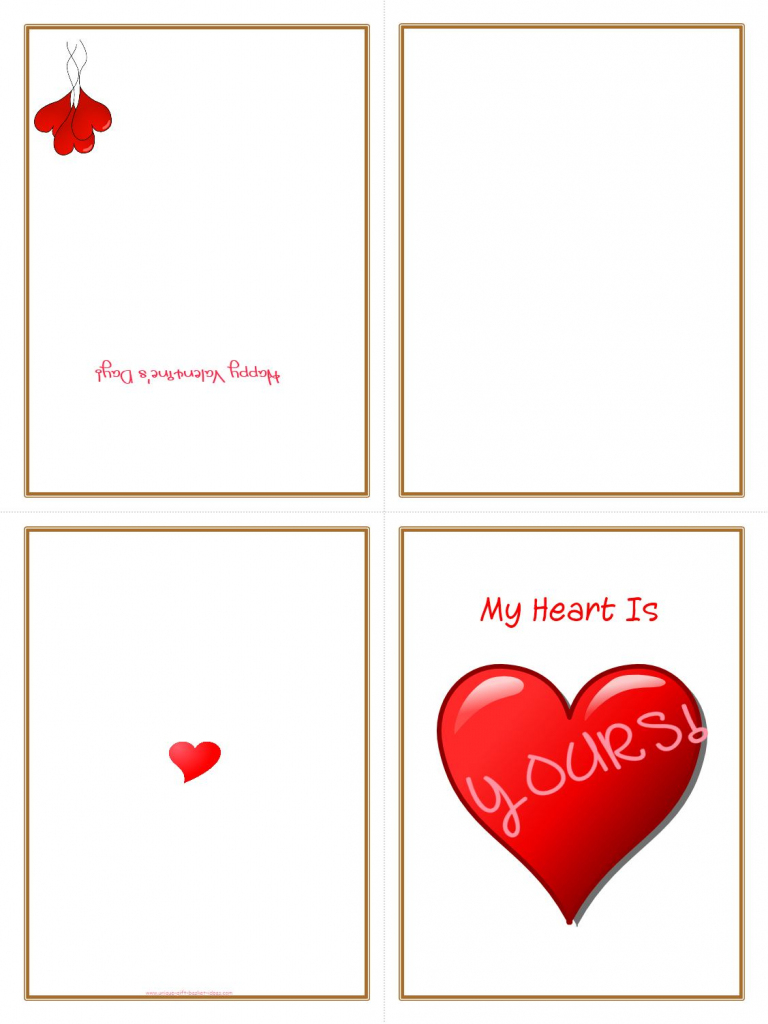 Printable Folded Cards - Kleo.bergdorfbib.co | Free Printable Quarter Fold Christmas Cards