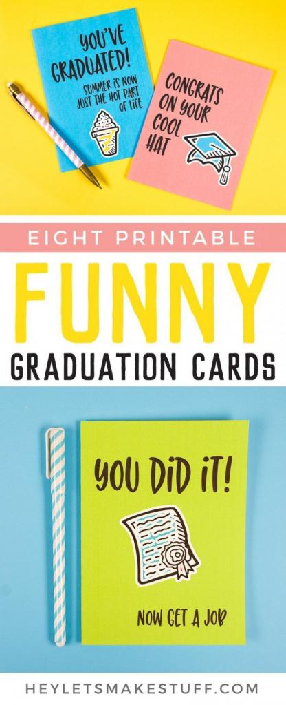 Printable Funny Graduation Cards | Freebies-Printables And Downloads | Cute Graduation Cards Printable