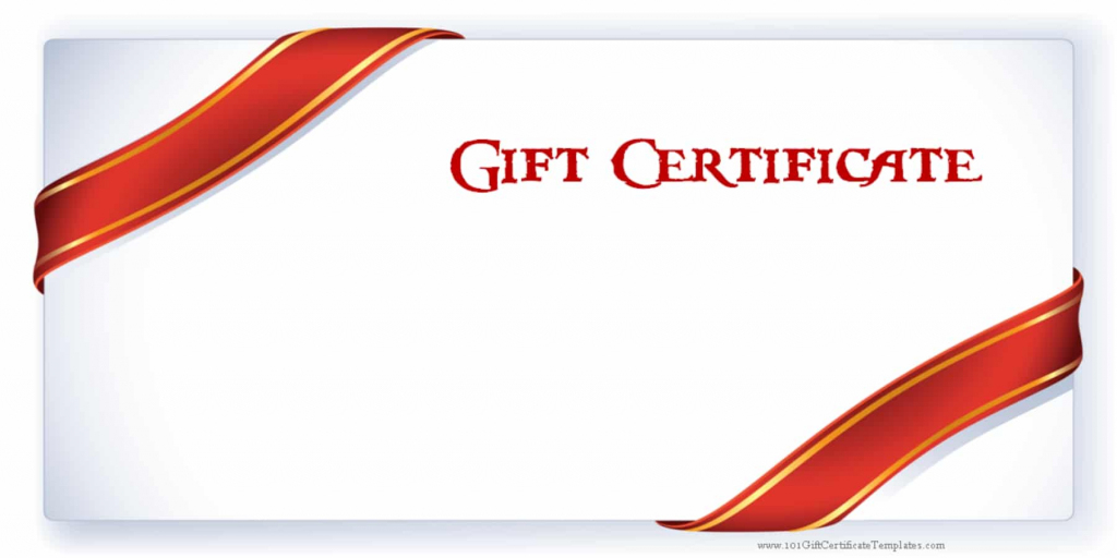Printable Gift Certificate Templates   Printable Gift Card Template