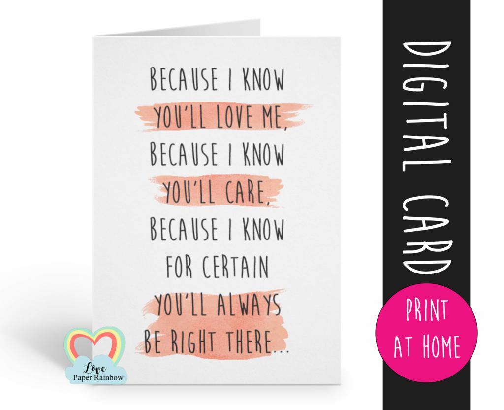 Printable Godmother Card, Godmother Poem Card, Will You Be My | Will You Be My Godmother Printable Card