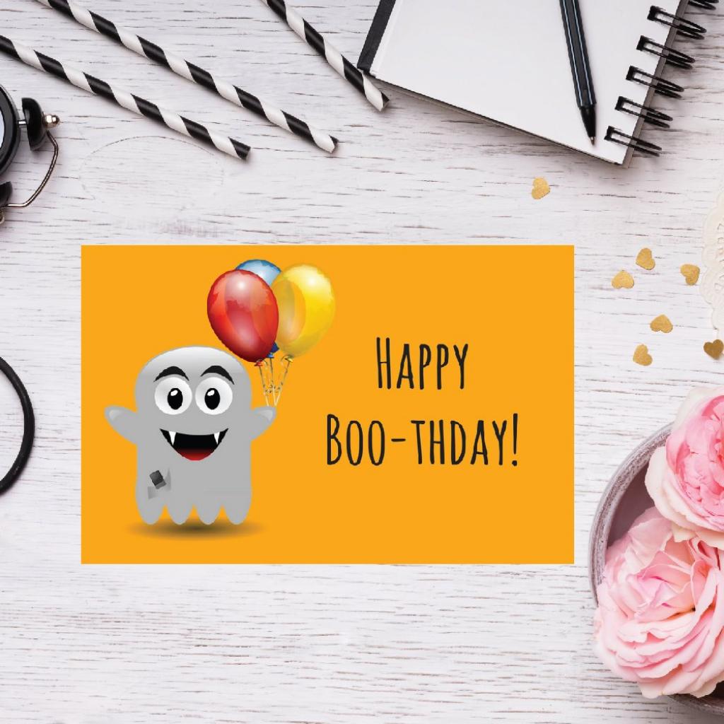 Printable Greeting Card Halloween Greeting Card Printable   Etsy   Printable Halloween Greeting Cards