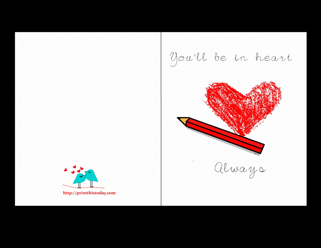 Printable I Love You Cards For Him - Lacalabaza | Lacalabaza | Printable Love Birthday Cards For Him