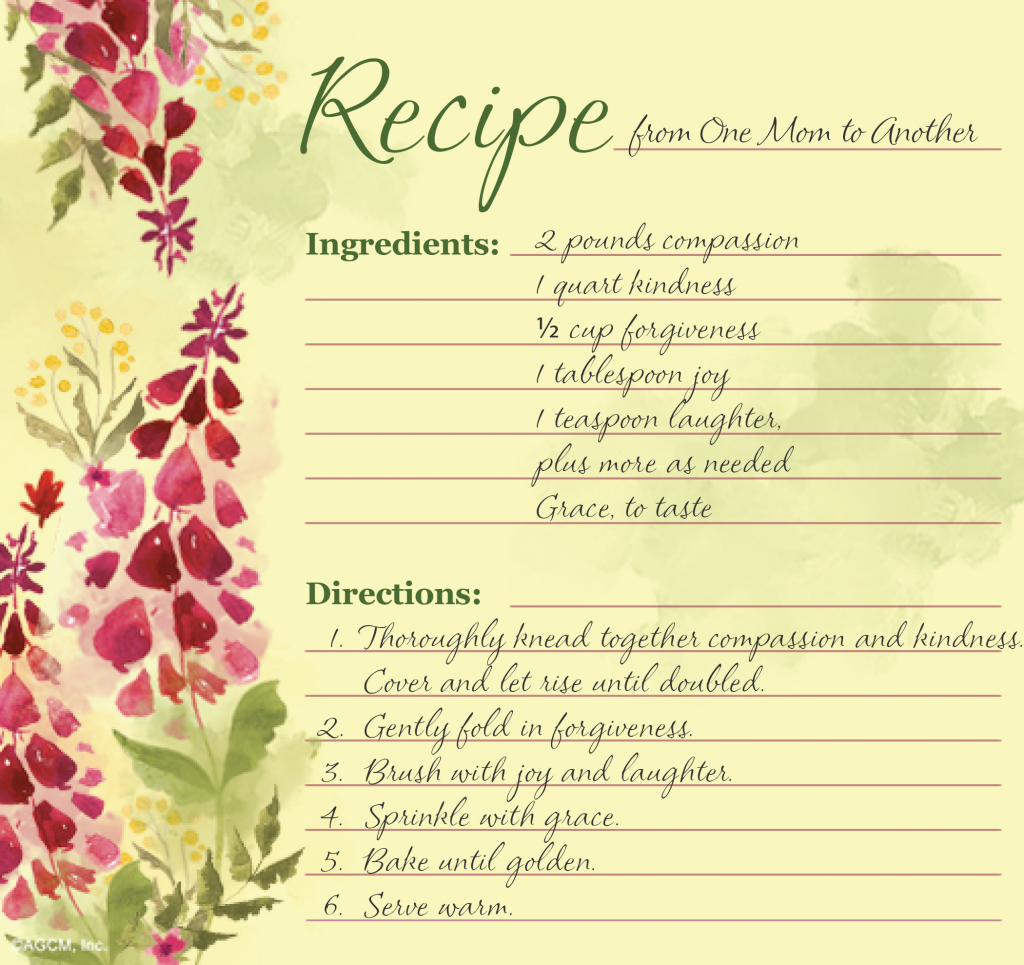 Printable Mother's Day Recipe Poems - Blue Mountain Blog | Free Printable Mothers Day Cards Blue Mountain