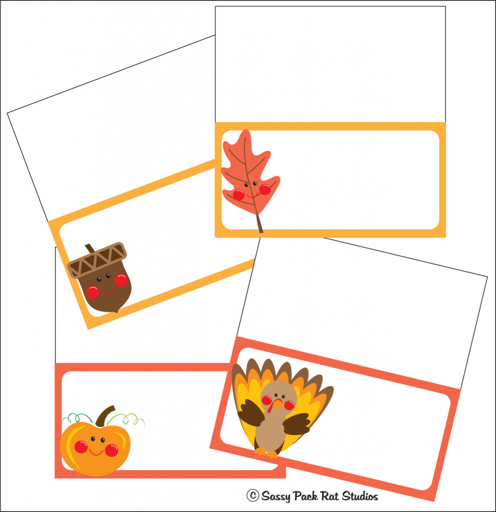 Printable Name Cards - Canas.bergdorfbib.co | Printable Table Name Cards For Thanksgiving