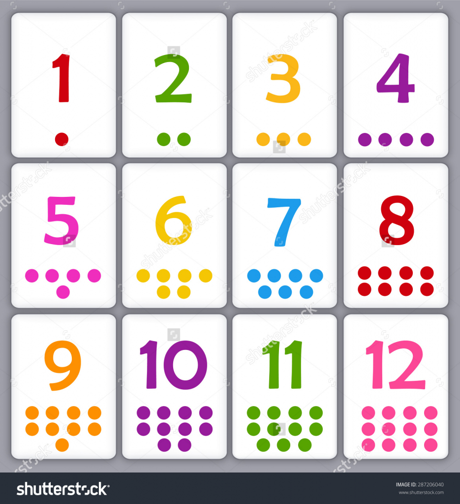 Printable Numbers 1 20 Flashcards (90+ Images In Collection) Page 3 | Printable Number Cards 1 20