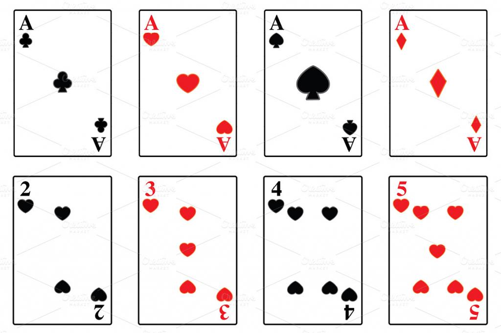 Printable Playing Card - Under.bergdorfbib.co | Printable Jumbo Playing Cards
