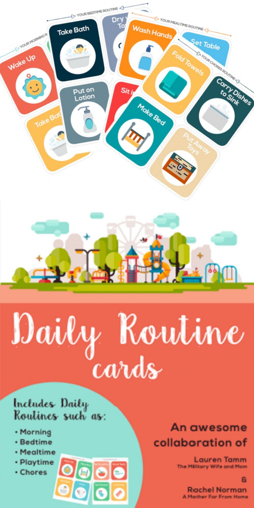 Printable Routine Picture Cards   Classroom Resources   Montessori   Free Printable Daily Routine Picture Cards