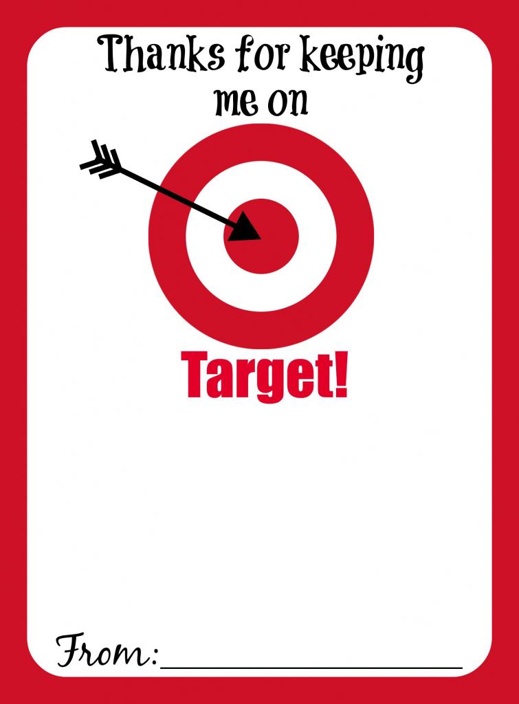 Printable Target Gift Card - Sdanimalhouse | Printable Target Gift Card