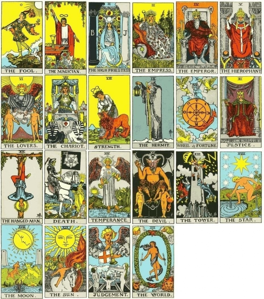 Printable Tarot Cards | World Of Label | Printable Tarot Cards Pdf Free