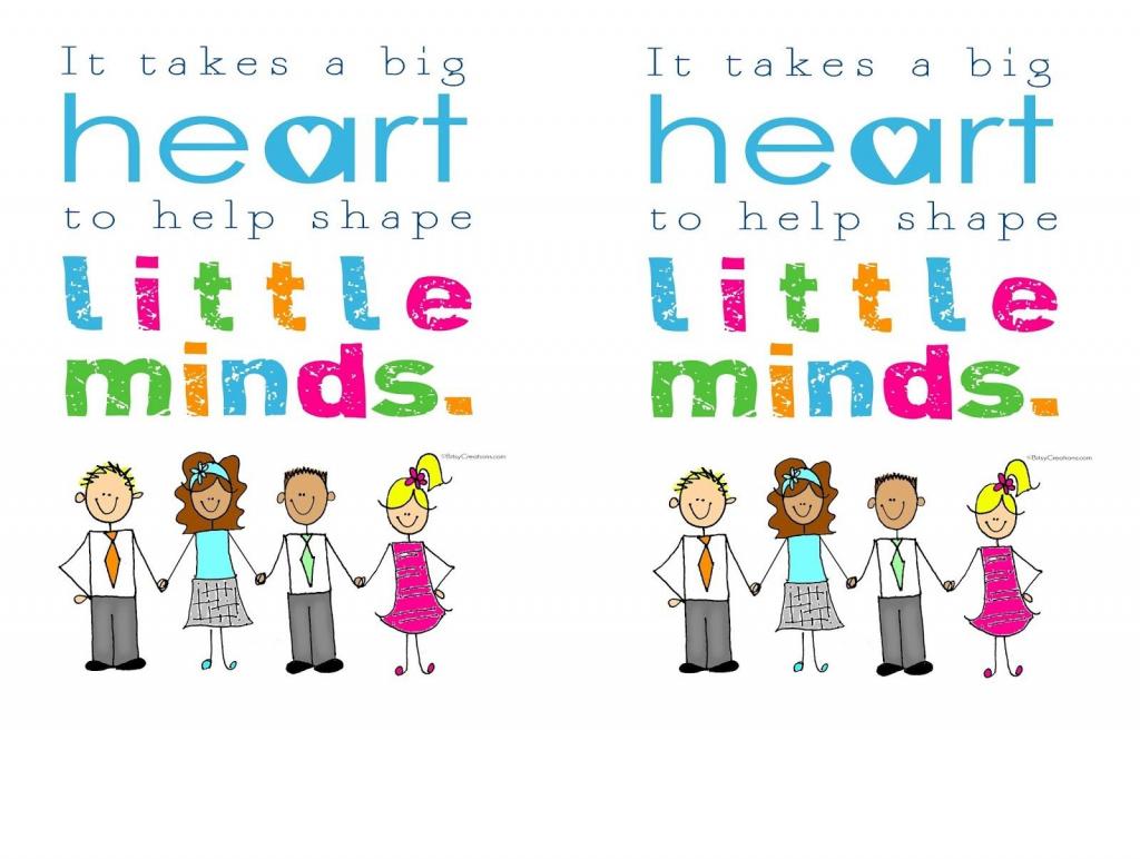 Printable Thank You Card For Teacher - Lacalabaza | Lacalabaza | Free Printable Thank You Cards For Teachers