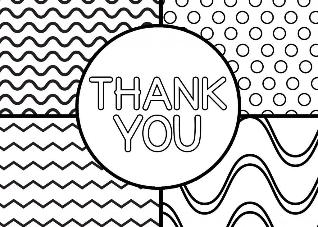 Printable Thank You Cards For Kids | Classroom | Printable Thank You | Free Printable Thank You Cards Black And White