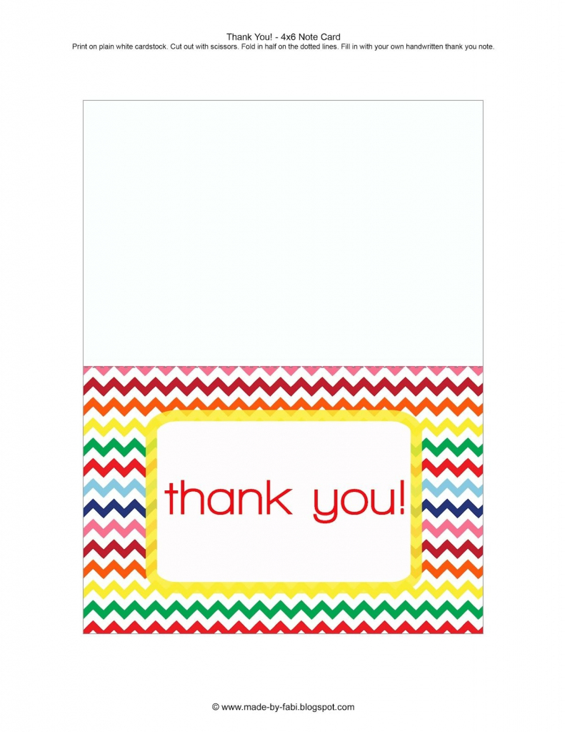 Printable Thank You Cards For Students - Printable Cards | Printable Thinking Of You Cards