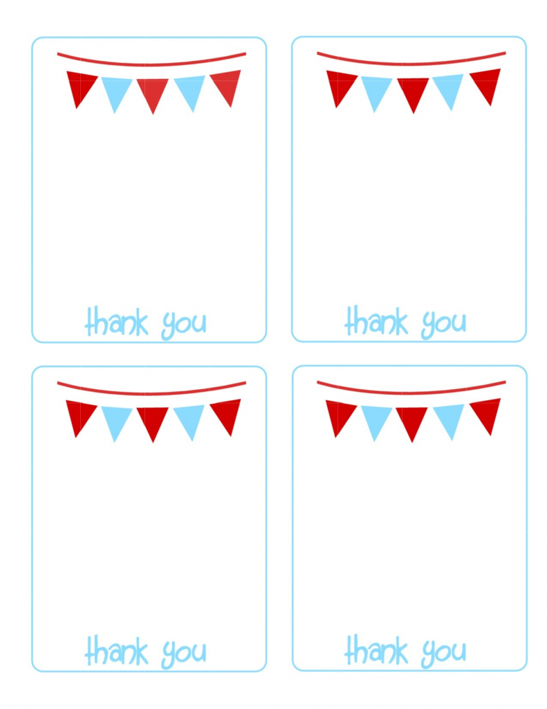 Printable Thank You Cards - The House Of Hendrix | Printable Thank You Cards