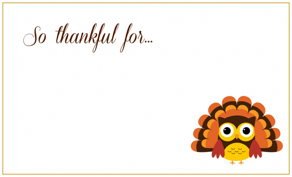 Printable Thanksgiving Greeting Cards - Kleo.bergdorfbib.co | Thanksgiving Printable Greeting Cards