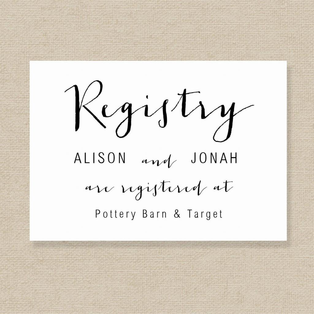 Printable Wedding Registry Checklist | Wedding Registry Cards Baby | Printable Gift Registry Cards
