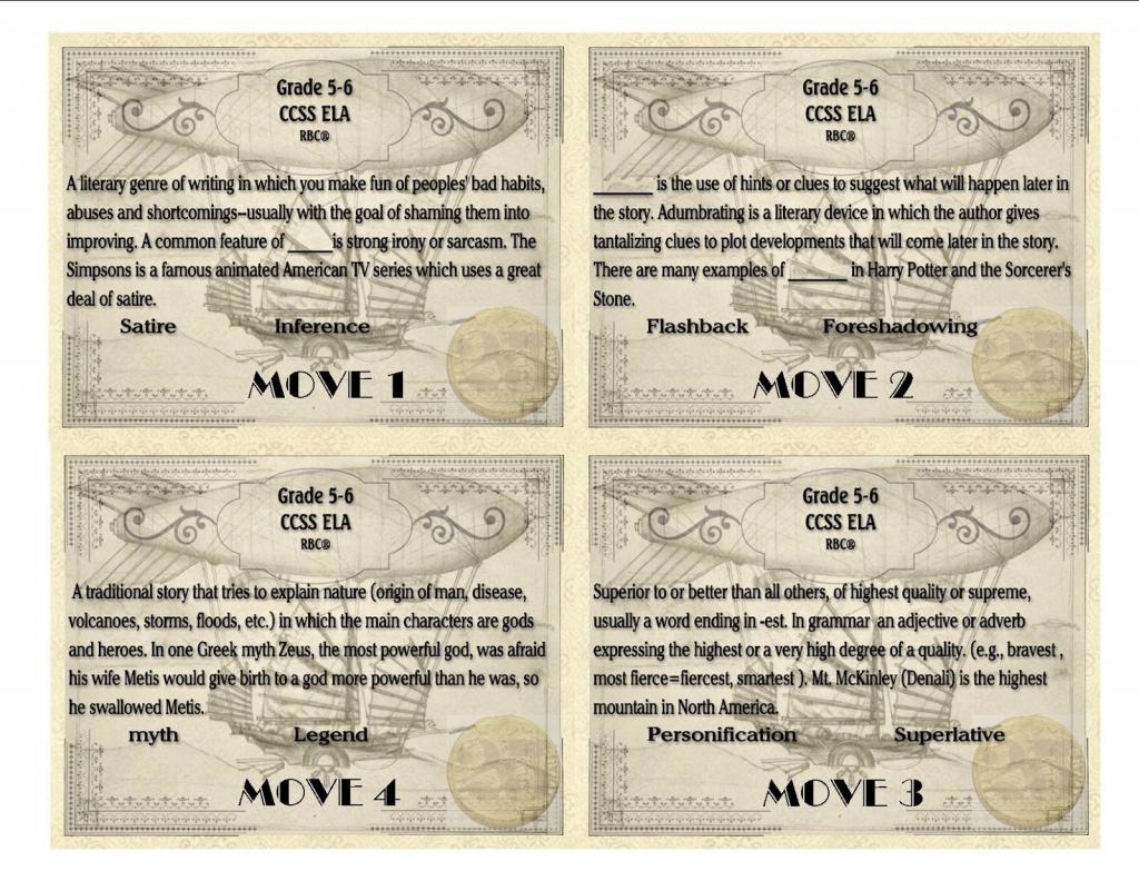 Reading Sage: Reading Comprehension Board Games | Grade 2, 3, 4, 5 | Printable Card Games Pdf
