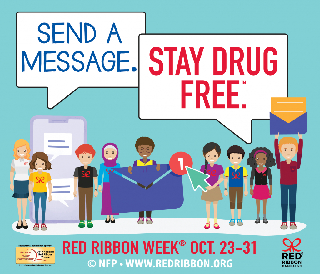 Red Ribbon Campaign: Sign The Red Ribbon Pledge | Free Printable Drug Free Pledge Cards