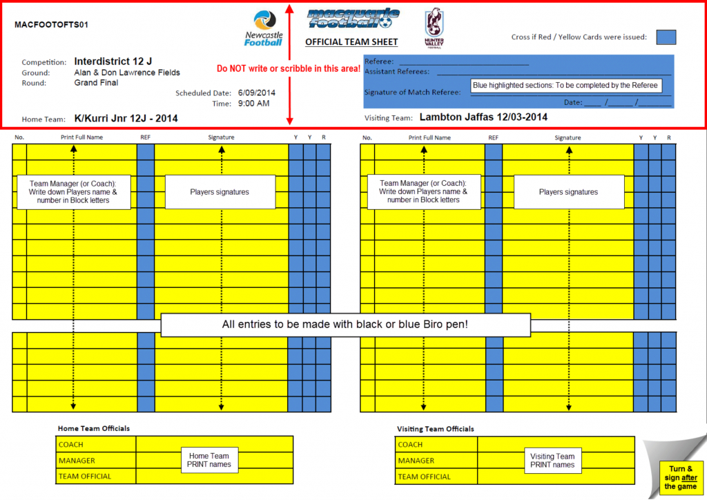 Rules - What Do The Referees Write During The Matches? - Sports | Printable Football Referee Game Cards