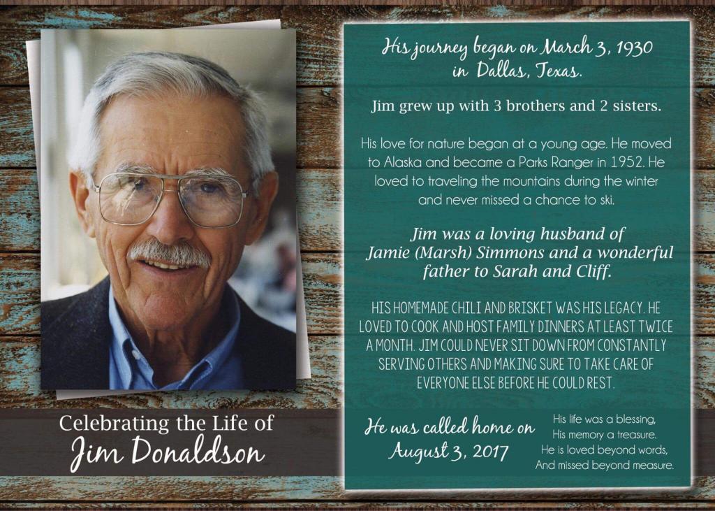 Rustic Wood Funeral Program Printable Memorial Card | Etsy | Printable Memorial Cards For Funeral