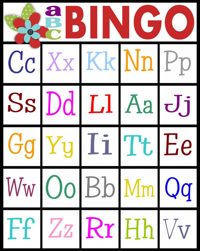 Sassy Sanctuary: Abc's Bingo- Free Printable!   Abc Bingo Cards Printable
