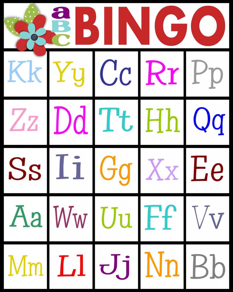 Sassy Sanctuary: Abc's Bingo- Free Printable!   Free Printable Alphabet Bingo Cards