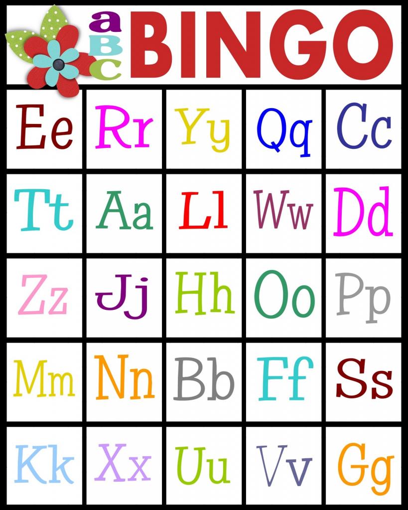Sassy Sanctuary: Abc's Bingo- Free Printable! | Free Printable Spanish Bingo Cards